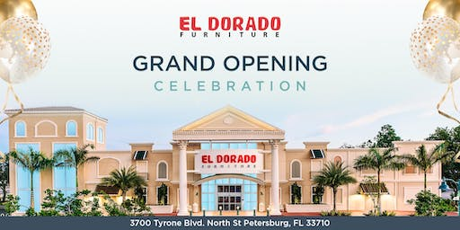 Grand Opening Celebration! - El Dorado Furniture St. Petersburg