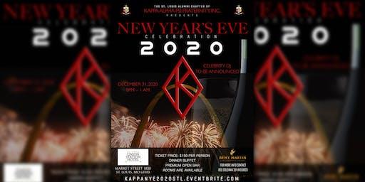 Kappa Alpha Psi Fraternity, Inc. New Years Eve 2020 Celebration