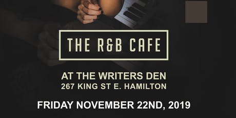"Soul House Live Presents  ""The R&B Cafe"" tickets"