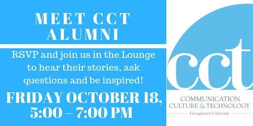 Meet CCT Alumni, Session 1 - Fall 2019!