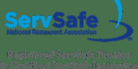 Certificación Inocuidad Alimentaria ServSafe boletos