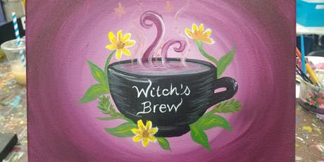 Witch's Brew Paint-along tickets