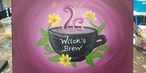 Witch's Brew Paint-along