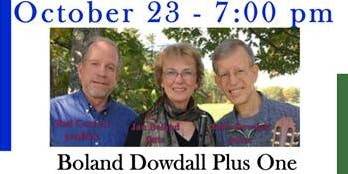 Free Concert at United Church October 23