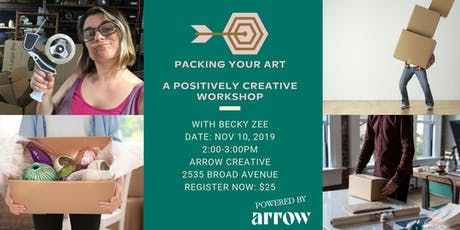Packing Your Art  with Becky Zee - A Positively Creative Workshop tickets