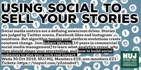 Using 'social' to sell your story tickets