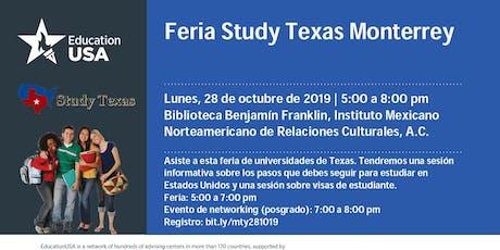 Feria Study Texas entradas