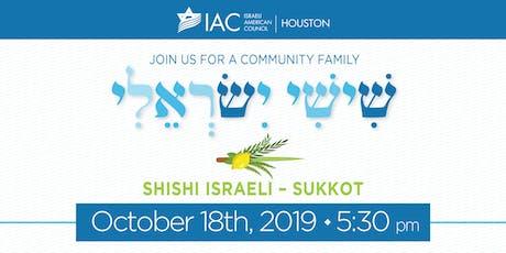 Shishi Israeli - Sukkot Celebration tickets