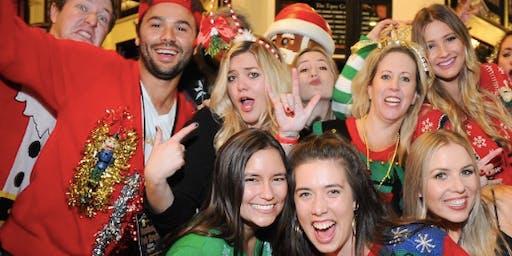 Santa Nightclub Crawl w/ 3 Drinks Included