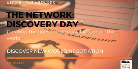 The Network Discovery Day [Discover New World Negotiation - Reading] tickets