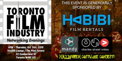 HALLOWEEN Toronto FILM and TV NETWORKING Evening