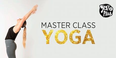 Master Class de Yoga en Microcentro entradas