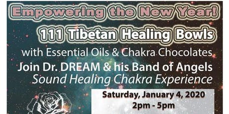 111 Tibetan Healing Bowls for the New Year, Sound Healing, Orlando tickets