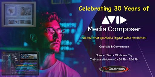 Celebrating 30 Years of Avid Media Composer