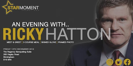 An Evening with Ricky Hatton MBE tickets