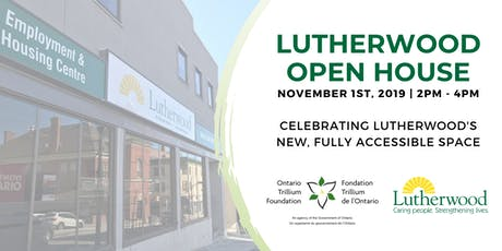 Lutherwood Improved Accessibility Project Open House tickets