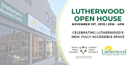Lutherwood Improved Accessibility Project Open House