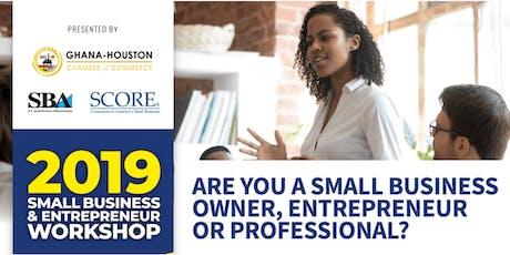 Small Business & Entrepreneur Workshop tickets