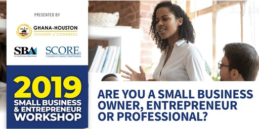 Small Business & Entrepreneur Workshop