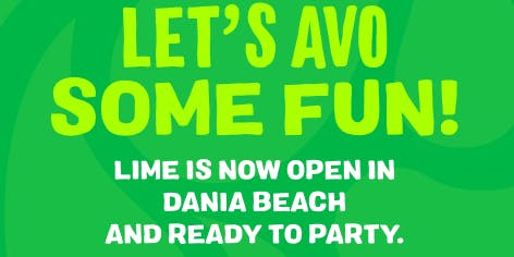 LIME Fresh Mexican Grill Dania Beach Grand Opening