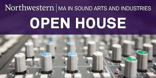 Sound Arts and Industries Fall Open House