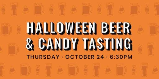 Halloween Beer & Candy Tasting