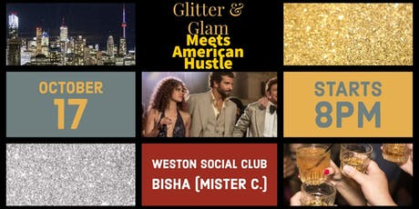 Glitter and Glam Meets American Hustle tickets