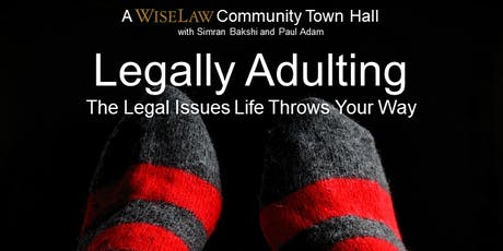Legally Adulting: The Legal Issues Life Throws Your Way tickets