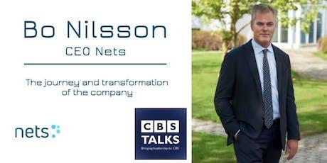 CBS Talks: Bo Nilsson CEO Nets tickets