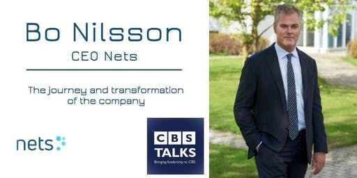 CBS Talks: Bo Nilsson CEO Nets