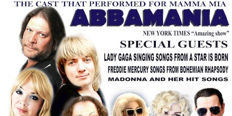 Abbamania & Freddy Mercury Tribute tickets