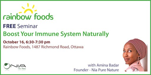 Free Seminar: Boost Your Immune System Naturally