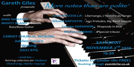 'More notes than are polite' - PIANO EXTRAVAGANZA tickets