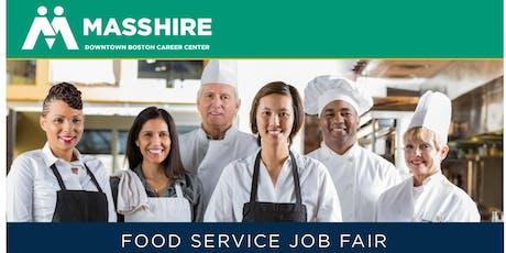 Food Service Job Fair tickets