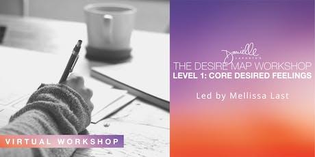 The Desire Map Level 1 online coaching program (6-weeks) tickets