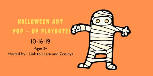Halloween Art Pop-Up Playdate