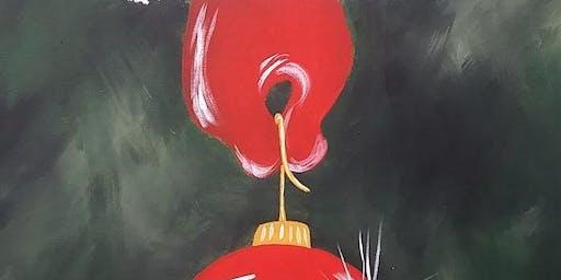 Santa Hand Acrylic Painting on Canvas Workshop