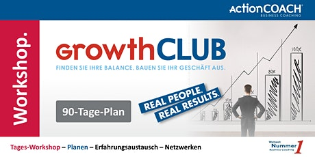 GrowthCLUB - 90-Tage-Plan Tickets