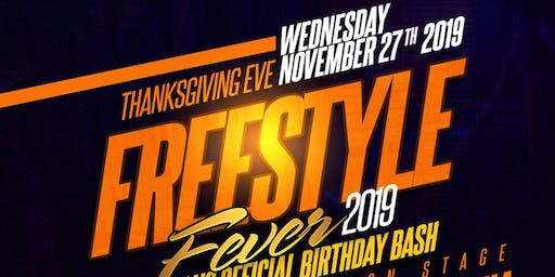 Freestyle Fever 2019 Sal's Official Birthday Bash