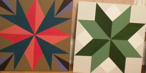 Barn Quilt Painting