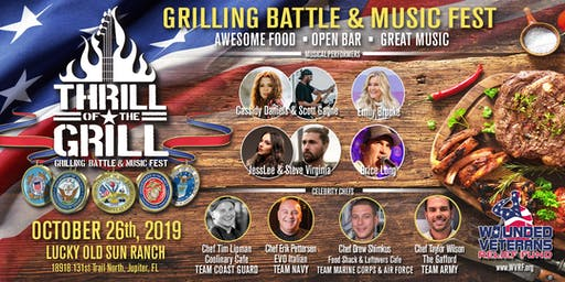 """Thrill of the Grill"" Culinary combat and Music festival"