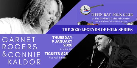 Legends of Folk: Garnet Rogers & Connie Kaldor tickets