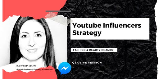 Youtube Influencers Strategy Live Q&A session (RSVP required)