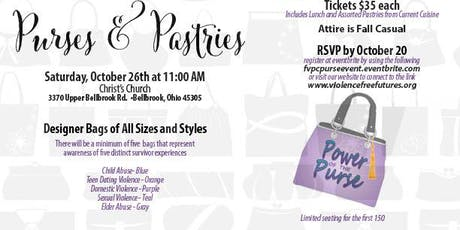 """""""Purses and Pastries"""" Lunch and Designer Purse Raffle  tickets"""