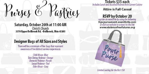 """Purses and Pastries"" Lunch and Designer Purse Raffle"