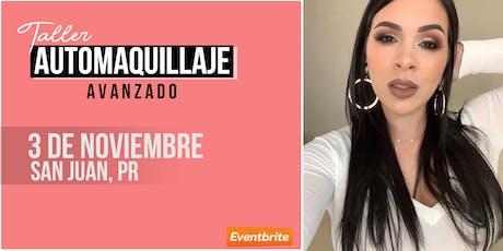 Taller Automaquillaje AVANZADO | SAN JUAN | Domingo 3 de Noviembre tickets