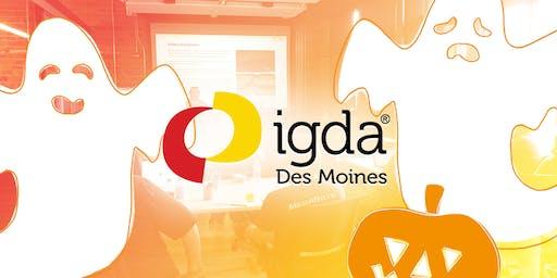 IGDA October Meeting: GameDev Tricks & Treats