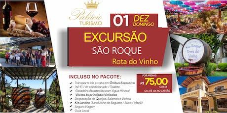 Excursão São Roque - Rota do Vinho ingressos