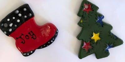 Ornament Glaze Workshop by Back Porch Pottery