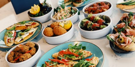 Tapas launch night @ The Rooftop Gardens tickets